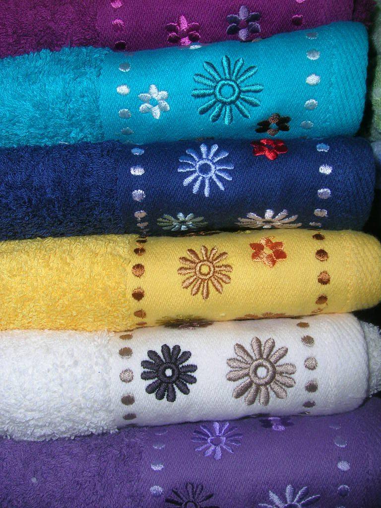 ręcznik frotte kwiatek